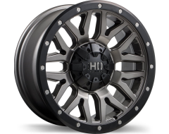 Fast Wheels Menace - Satin Gunmetal with Black Trim