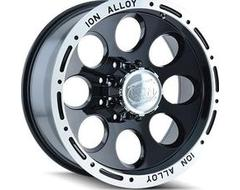 Ion Wheels 174 Series - Black - Machined lip
