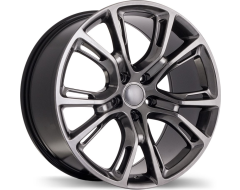 Replika Wheels R148B Series - Dark Hyper Silver