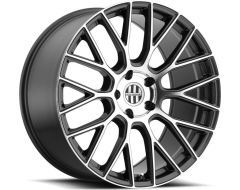 Victor Equipment Stabil Series Wheels - Gunmetal with mirror cut face