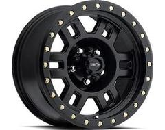 Vision Wheels 398 Manx - Matte black