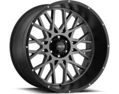 Vision 412 Rocker Wheels - Anthracite with Satin Black Lip
