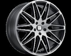 Touren Wheels TR75 3275 Series - Brushed matte black - Dark Tint