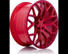Deutschman Design D01 Series Wheels - Red machined red