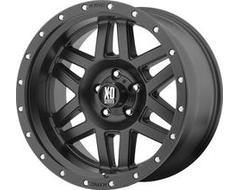 XD Series Wheels XD128 MACHETE - Satin Black - Reinforcing Ring
