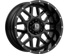 XD Series Wheels XD820 GRENADE - Satin - Black