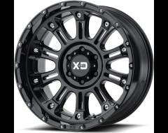 XD Series Wheels XD829 HOSS II - Gloss - Black