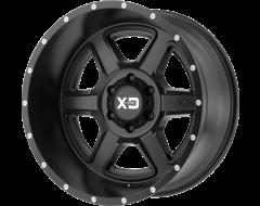 XD Series Wheels XD832 FUSION - Satin - Black
