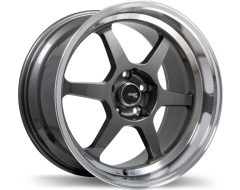 Fast Wheels FC06 - Gloss Gunmetal with Machined Lip