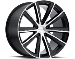 Milanni 471 Splinter Wheels - Gloss Black Machined Face