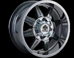 Mayhem MONSTIR 8100 Series Wheels - chrome