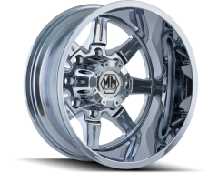 Mayhem MONSTIR 8101 Series Wheels - rear chrome