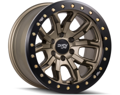 Dirty Life Wheels DT-1 9303 Series - Satin Gold - Simulated ring