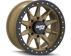 Dirty Life Wheels DT-2 9304 Series - Satin Gold - Simulated ring