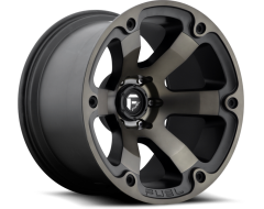Fuel Beast Series Wheels - Matte Black with Machined Finish