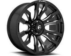 Fuel Off-Road Wheels D673 BLITZ - Gloss Black Milled