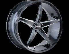 Touren Wheels TR70 3270 Series - Black - Milled spokes