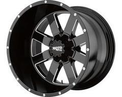 Moto Metal Wheels MO962 - Satin Grey - Milled