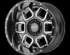 Moto Metal MO981 SPADE Series Wheels - Gloss black machined