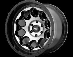 Moto Metal MO990 ROTARY Series Wheels - Gloss black machined
