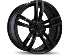 Replika Wheels R163A Series - Gloss Black