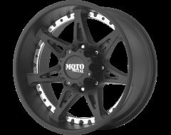Moto Metal MO961 Series Wheels - Satin black