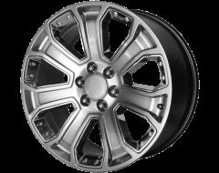 OE Creations Wheels PR113 - Hyper silver dark - Chrome Accents