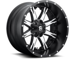 Fuel Off-Road Wheels D541 NUTZ - Matte Black - Machined