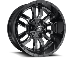 Fuel Off-Road Wheels D595 SLEDGE - Gloss Black Milled