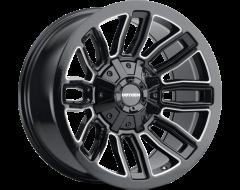 Mayhem DECOY 8108 Series Wheels - gloss black with milled spokes