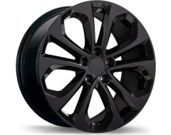 Replika Wheels R191 Series - Gloss Black