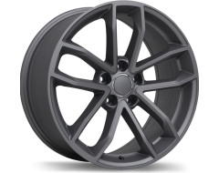 Replika Wheels R199 Series - Matte Gunmetal