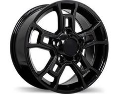 Replika Wheels R225 Series - Gloss Black