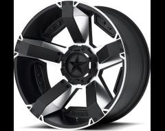 XD Series Wheels XD811 ROCKSTAR II - Matte Black - Machined