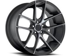 Niche Wheels M130 TARGA - Matte Black - Double Dark tint