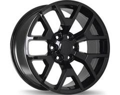 Replika Wheels R162A Series - Gloss Black