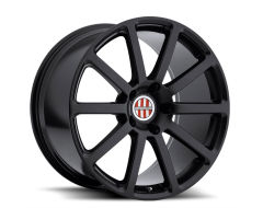 Victor Equipment Zehn Series Wheels - Matte black
