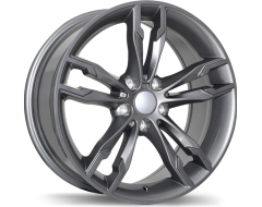 Replika Wheels R198 Series - Gloss Gunmetal