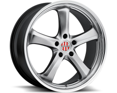 Victor Equipment Turismo Series Wheels - Hyper silver with mirror cut lip