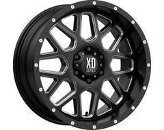 XD Series Wheels XD820 GRENADE - Satin Black - Milled