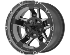 XD Series Wheels XD827 ROCKSTAR III - Matte Black - Machined