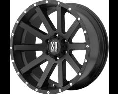 XD Series Wheels XD818 HEIST - Satin - Black
