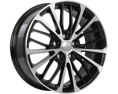 ART Wheels Replica 163 - Gloss Black with Machined Face