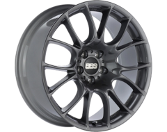 BBS CK Series Wheels - Anthracite finish, clear protective top coat.
