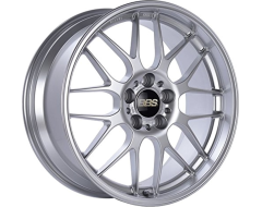 BBS RGR Series Wheels - Diamond silver paint, clear protective top coat.