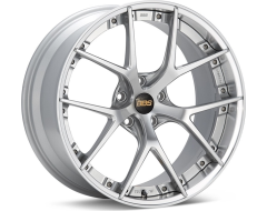BBS RI-S Series Wheels - Diamond silver painted center, diamond-cut rim, clear protective top coat.