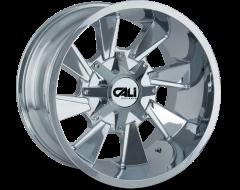Cali Off-Road DISTORTED 9106 Series Wheels - chrome