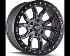 Dirty Life Wheels DT-1 9303 Series - Matte Gunmetal - Simulated ring