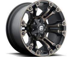 Fuel Off-Road Wheels D569 VAPOR - Matte Black - Double Dark tint