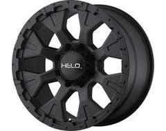 Helo Wheels HE878 - Satin - Black